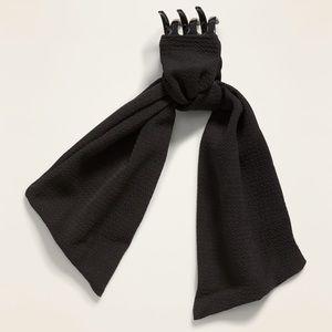 Old Navy Textile Scarf Claw Hair Clip